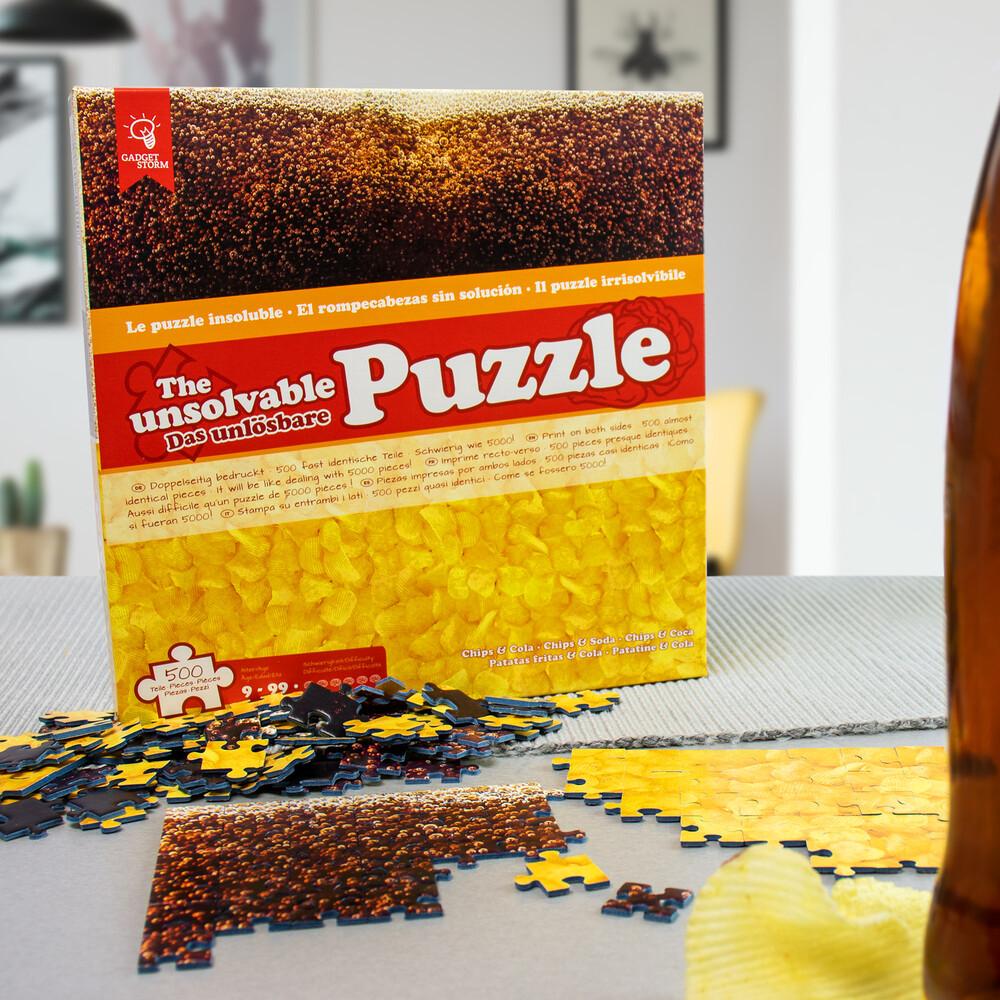 Das Unmögliche Puzzle - Unlösbares Puzzle - Chips Cola