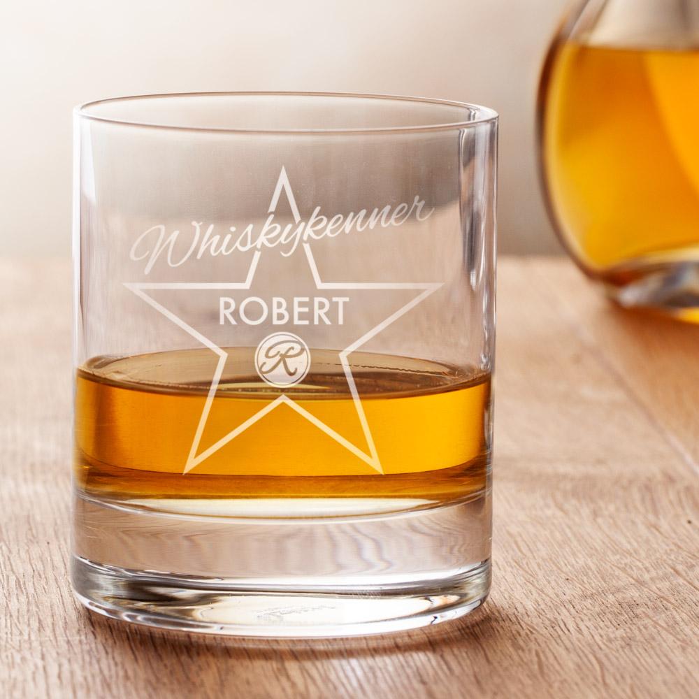 Star Of Fame Whiskyglas mit Gravur - Personalisiert