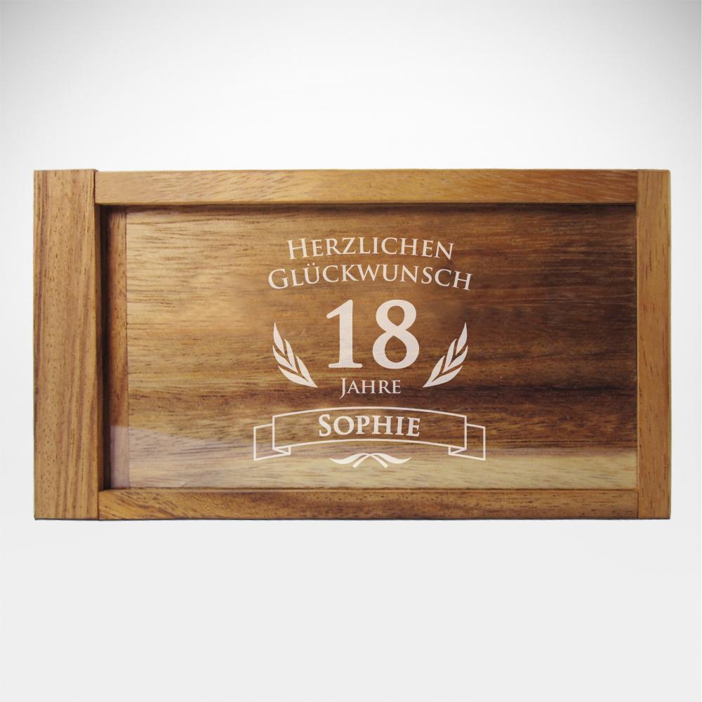 Magische Geldgeschenkbox zum runden Geburtstag - Personalisiert
