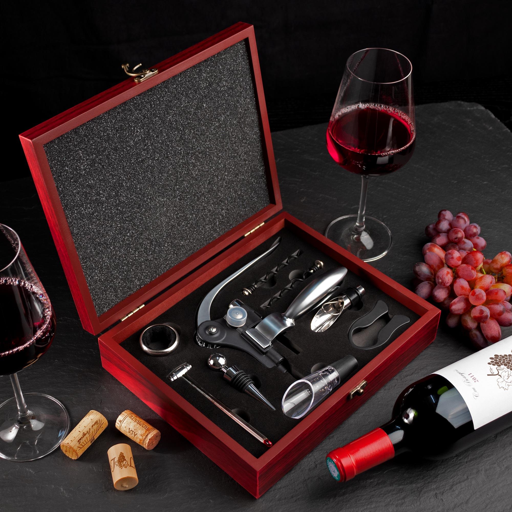 Wein Sommelier Set - 10-teilig