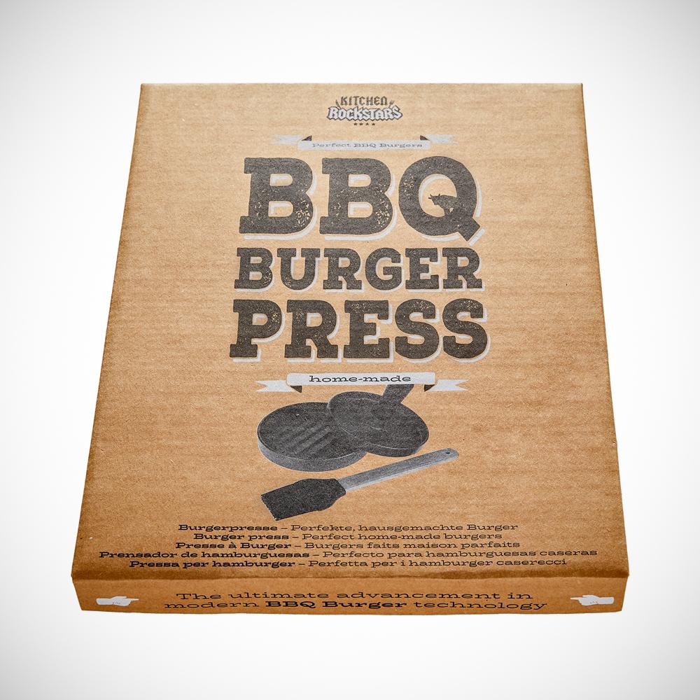Hamburgerpresse - Burgerpresse mit Zubehör