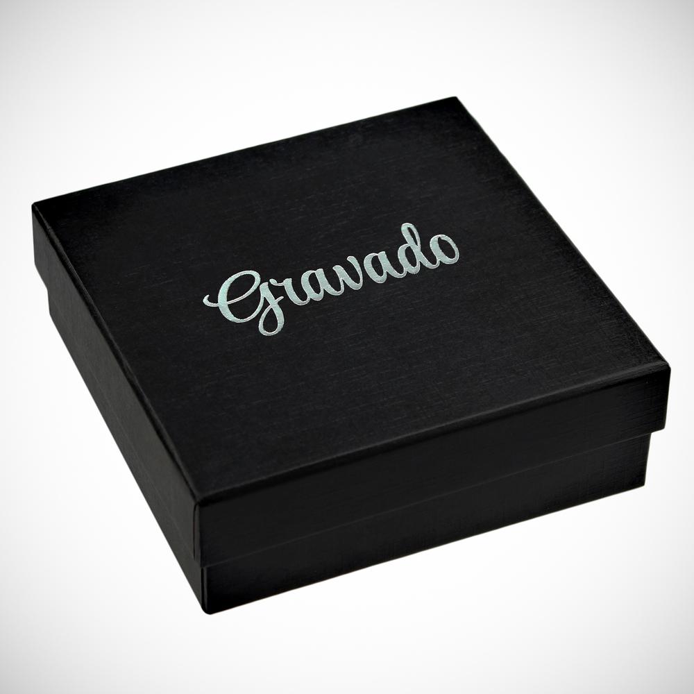 Kristall mit Gravur zur Hochzeit - Personalisiert