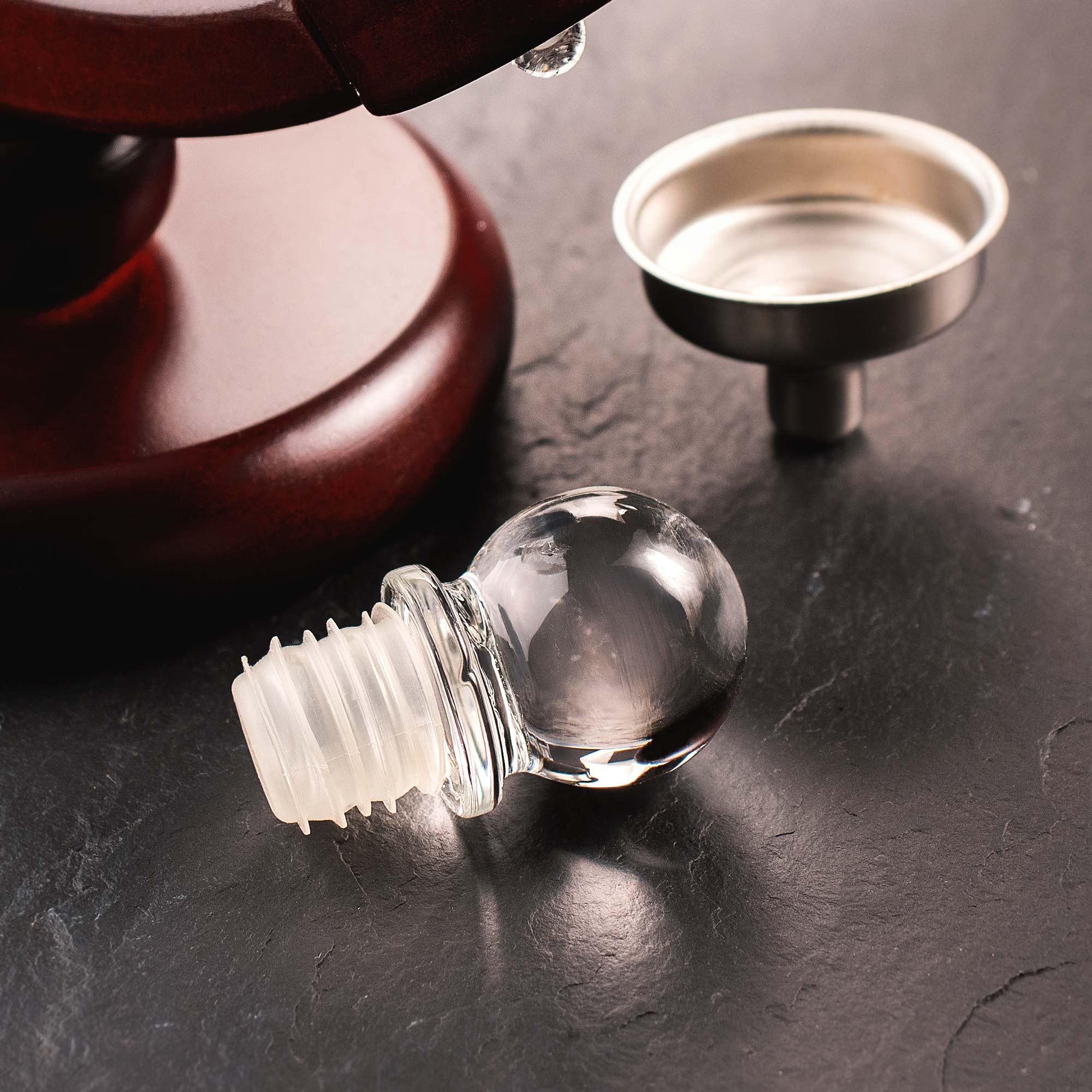 Whiskyset - Karaffe Globus mit Auto und Whiskyglas - Bester Papa