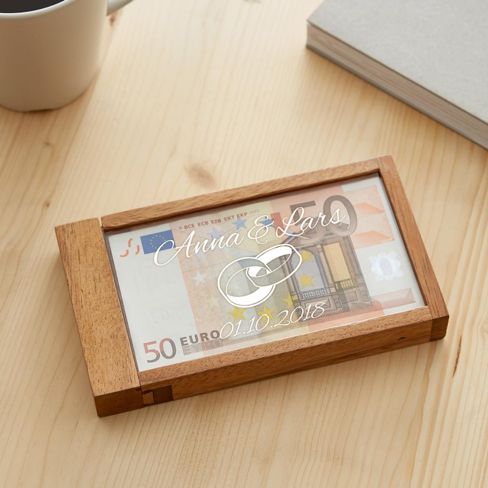 Magische Geldgeschenkbox zur Hochzeit