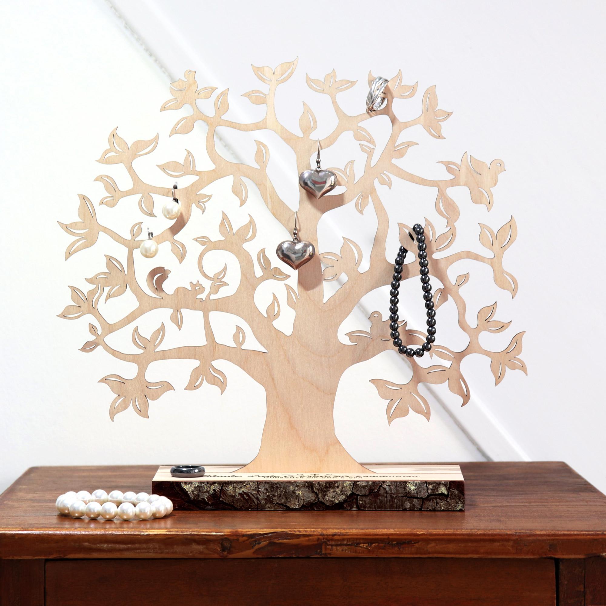 Geldbaum mit Gravur zur Kommunion - Personalisiert - Klein
