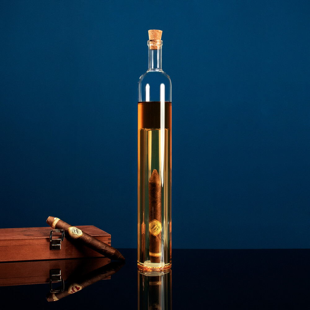 Geschenkflasche mit Hohlraum für Männer