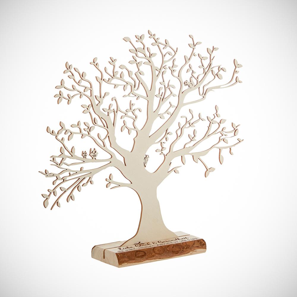 Geldbaum mit Gravur zur Geburt - Personalisiert - Groß